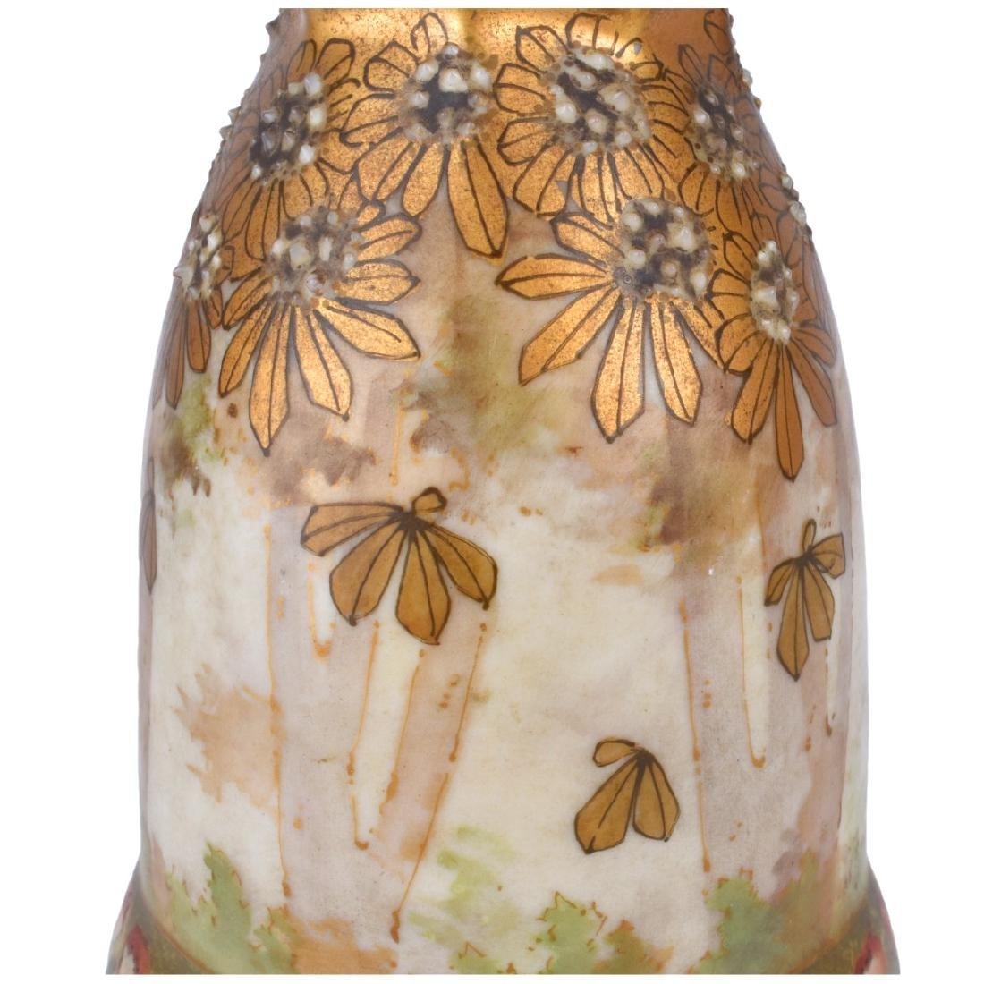 Turn Teplitz Amphora Vase - 2