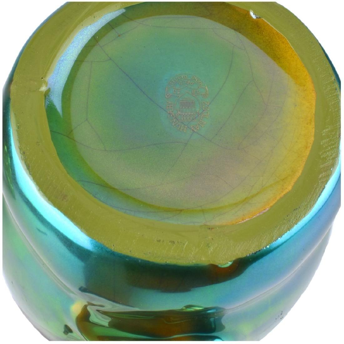 Zsolnay Vase and Pitcher - 5