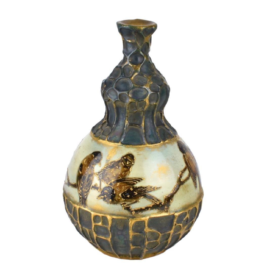Turn Teplitz Double Gourd Vase