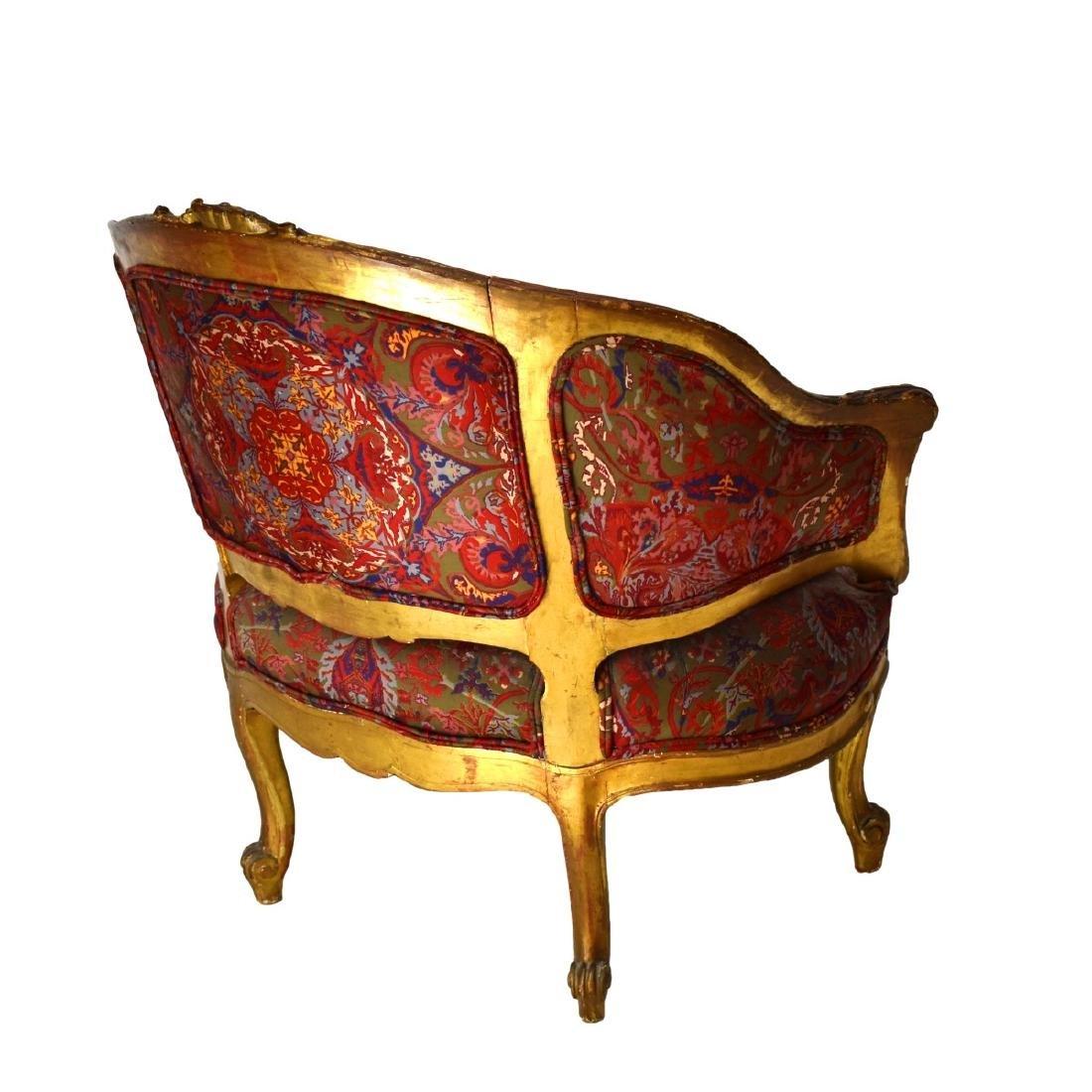 19th Century Louis XVI Style Bergere Chair - 2