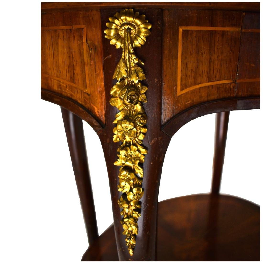 20th Century French Louis XVI Style Side Table - 4