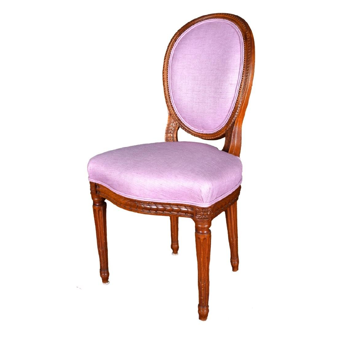 Four (4) French Louis XVI Style Side Chairs - 3