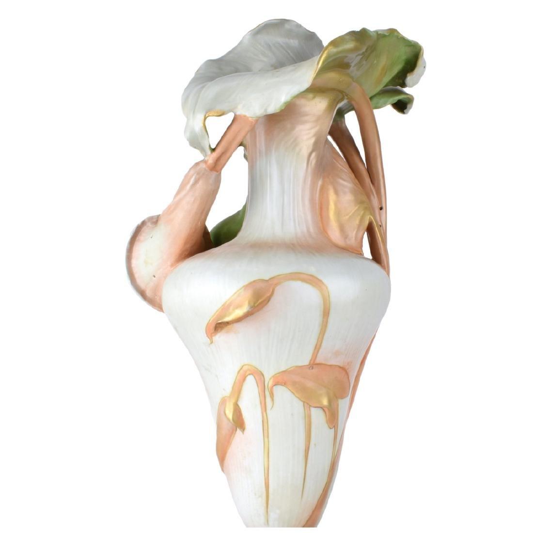 Amphora Porcelain Maiden Figural Vase - 3