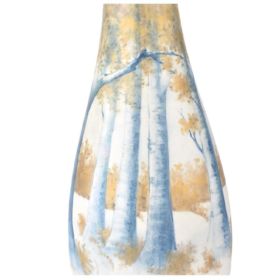 Paul Daschel Turn Teplitz Porcelain Vase - 3