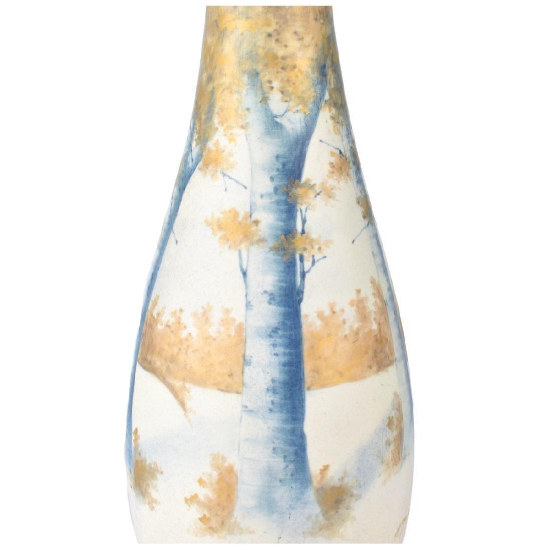 Paul Daschel Turn Teplitz Porcelain Vase - 4