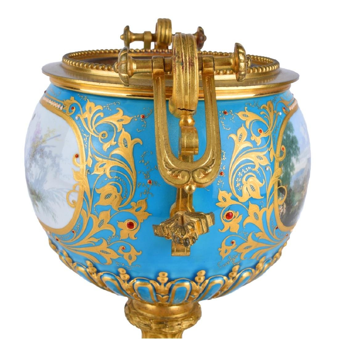 A Sevres syle Porcelain and Bronze Mounted Bowl - 3