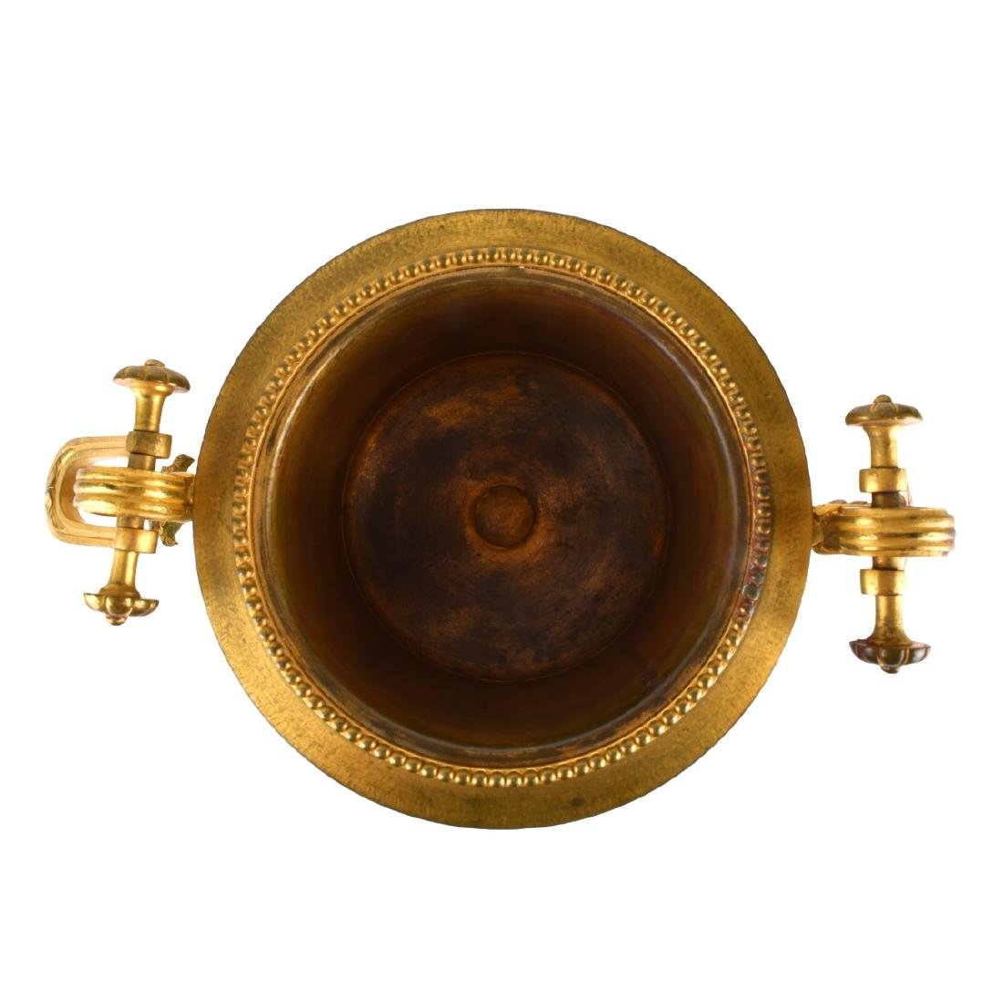 A Sevres syle Porcelain and Bronze Mounted Bowl - 4