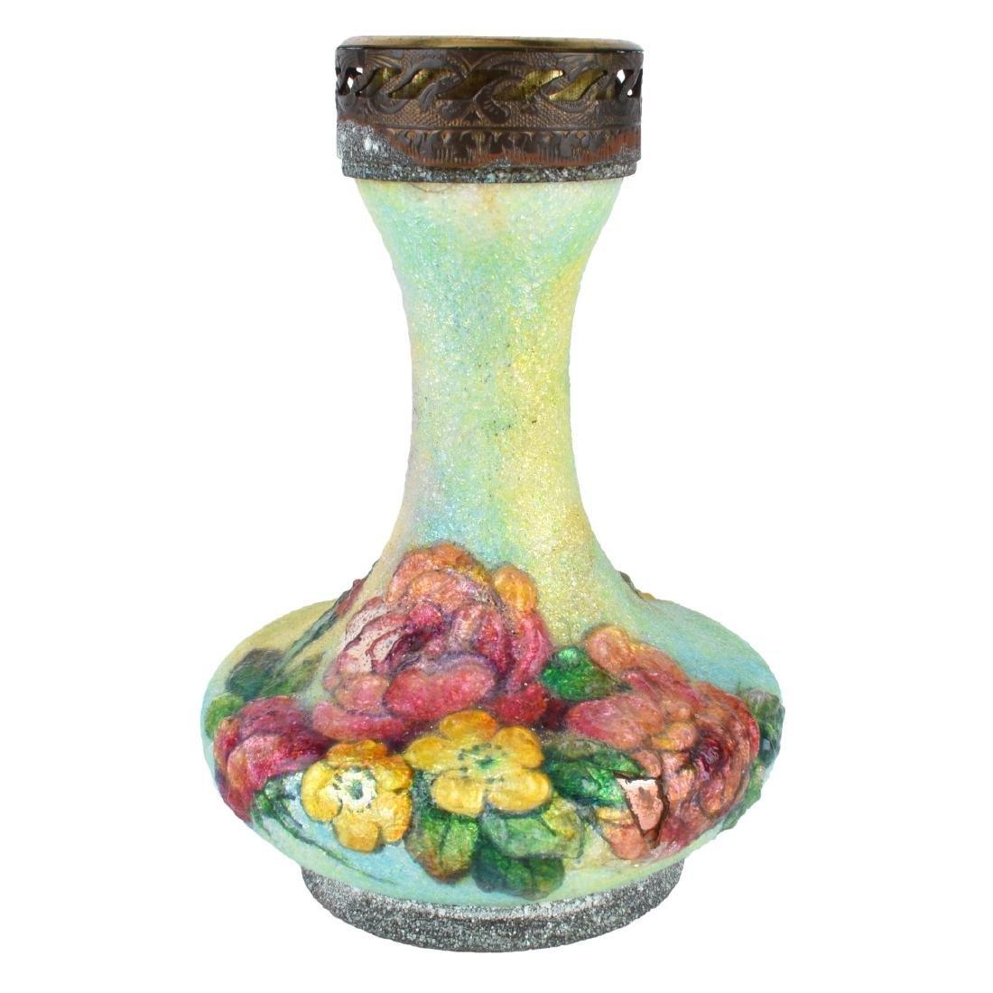 Three (3) Pc Faure Limoges Enamel Miniatures - 4