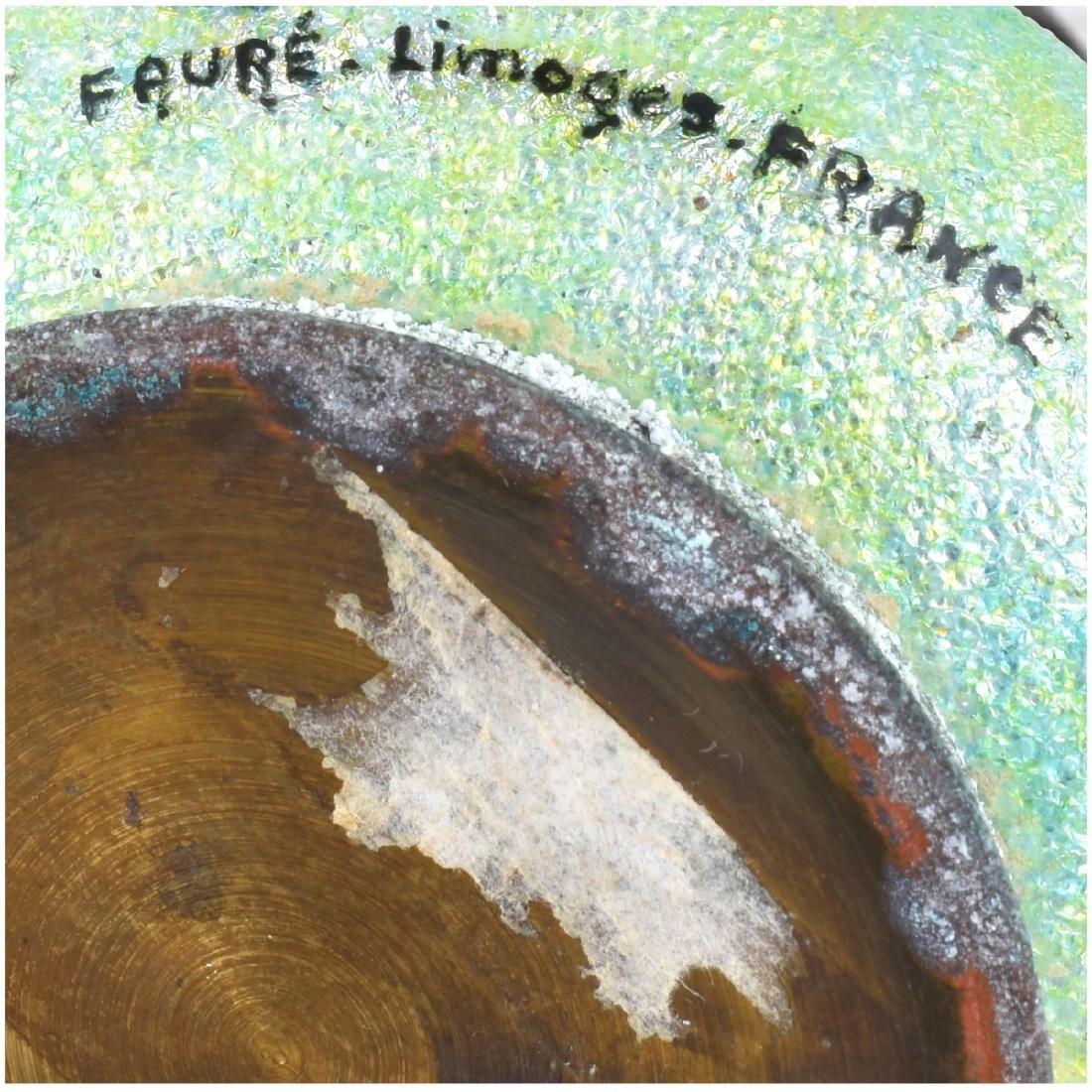 Three (3) Pc Faure Limoges Enamel Miniatures - 6