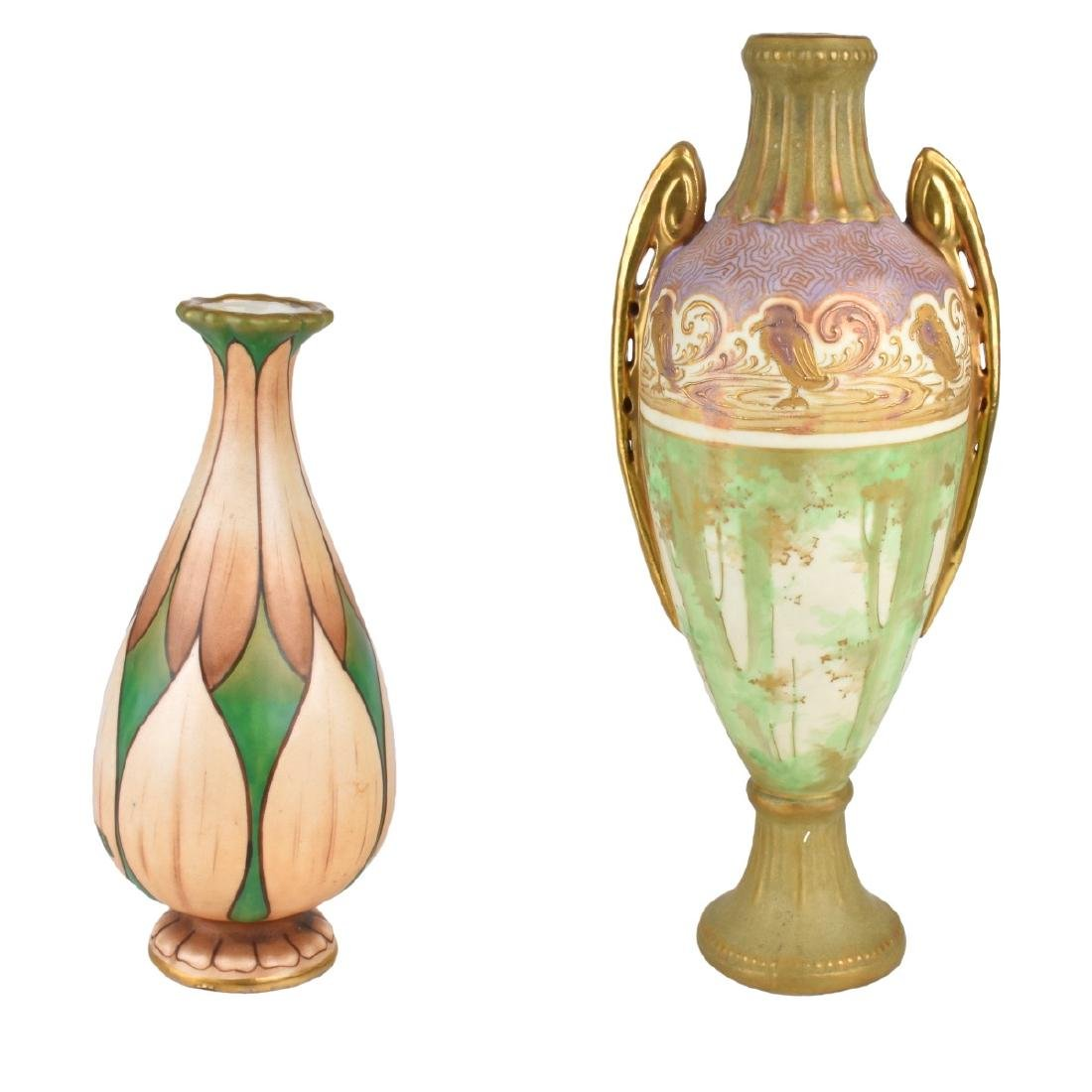Two (2) Piece Amphora Lot