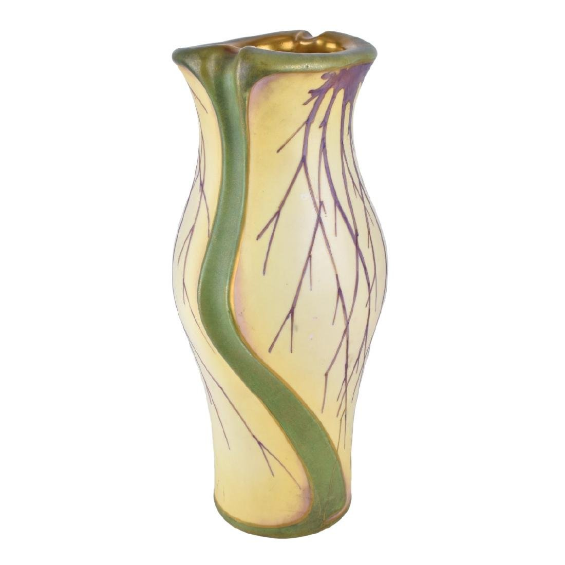 Turn Teplitz Bohemia Porcelain Vase