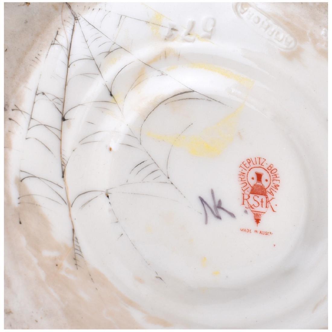 Turn Teplitz Bohemia Porcelain Vase - 3