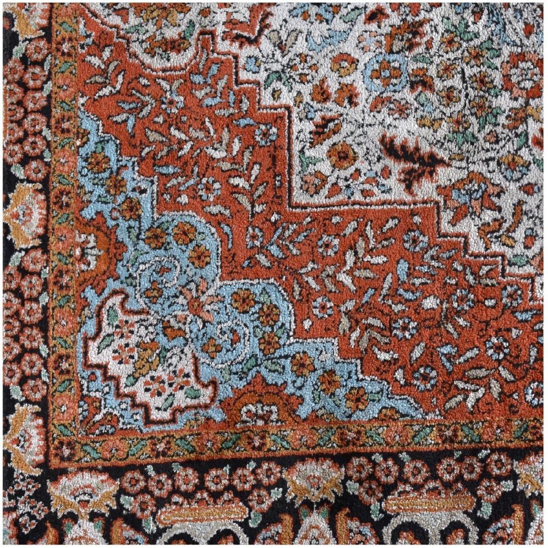 Semi Antique Persian Kashan Style Rug - 2
