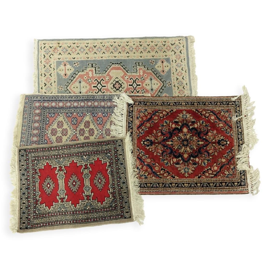 Four (4) Semi Antique Oriental Rugs