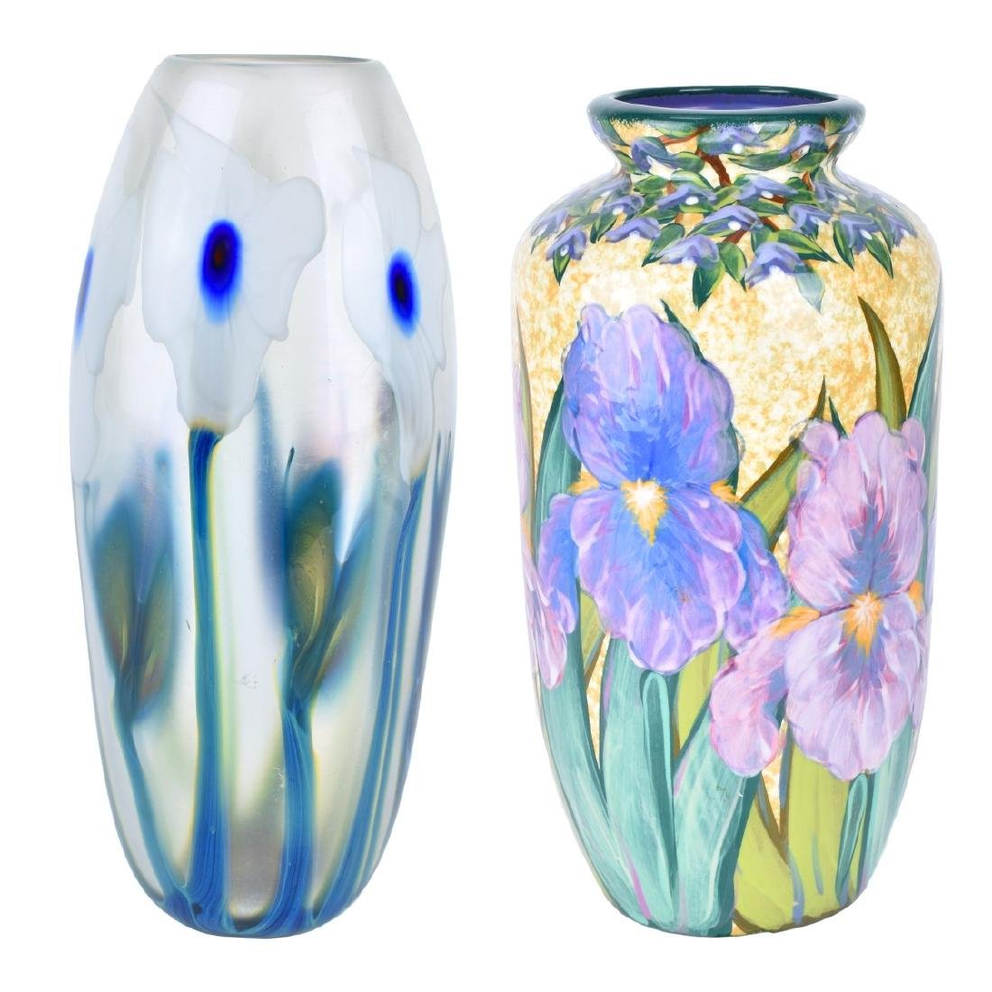 Grouping of Two (2) Vintage Vases
