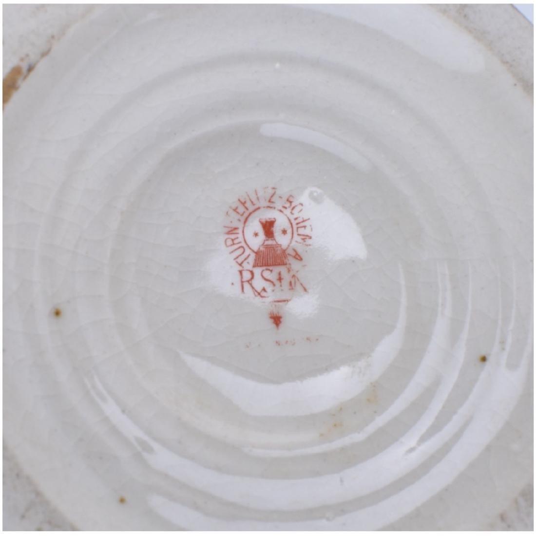 Turn Teplitz Amphora Dolphin Vase - 6