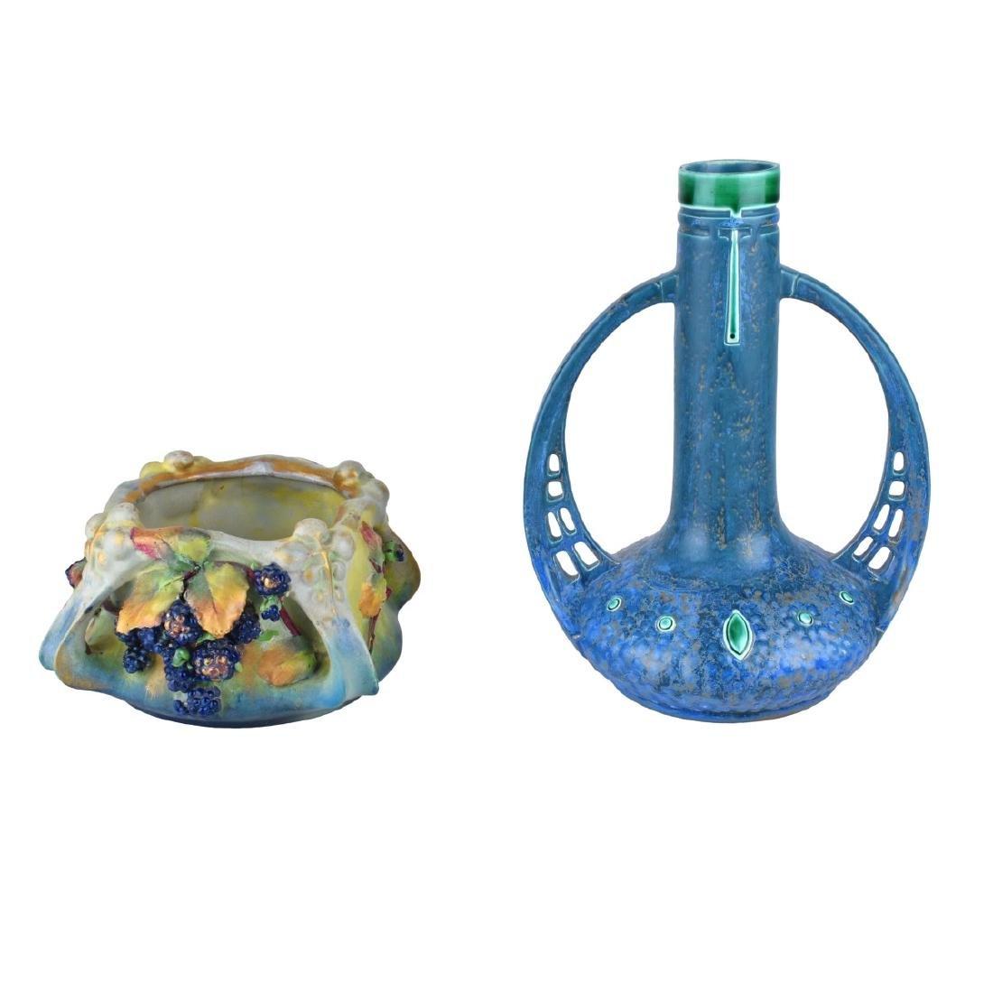Amphora Two (2) Piece Lot
