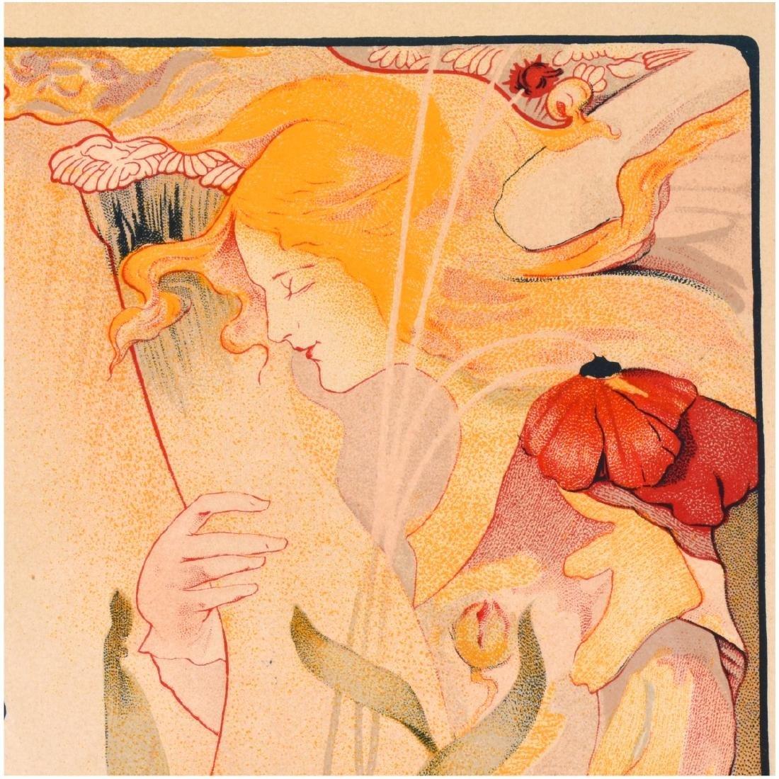 Fernand Toussaint (1873 - 1955) Lithograph - 3