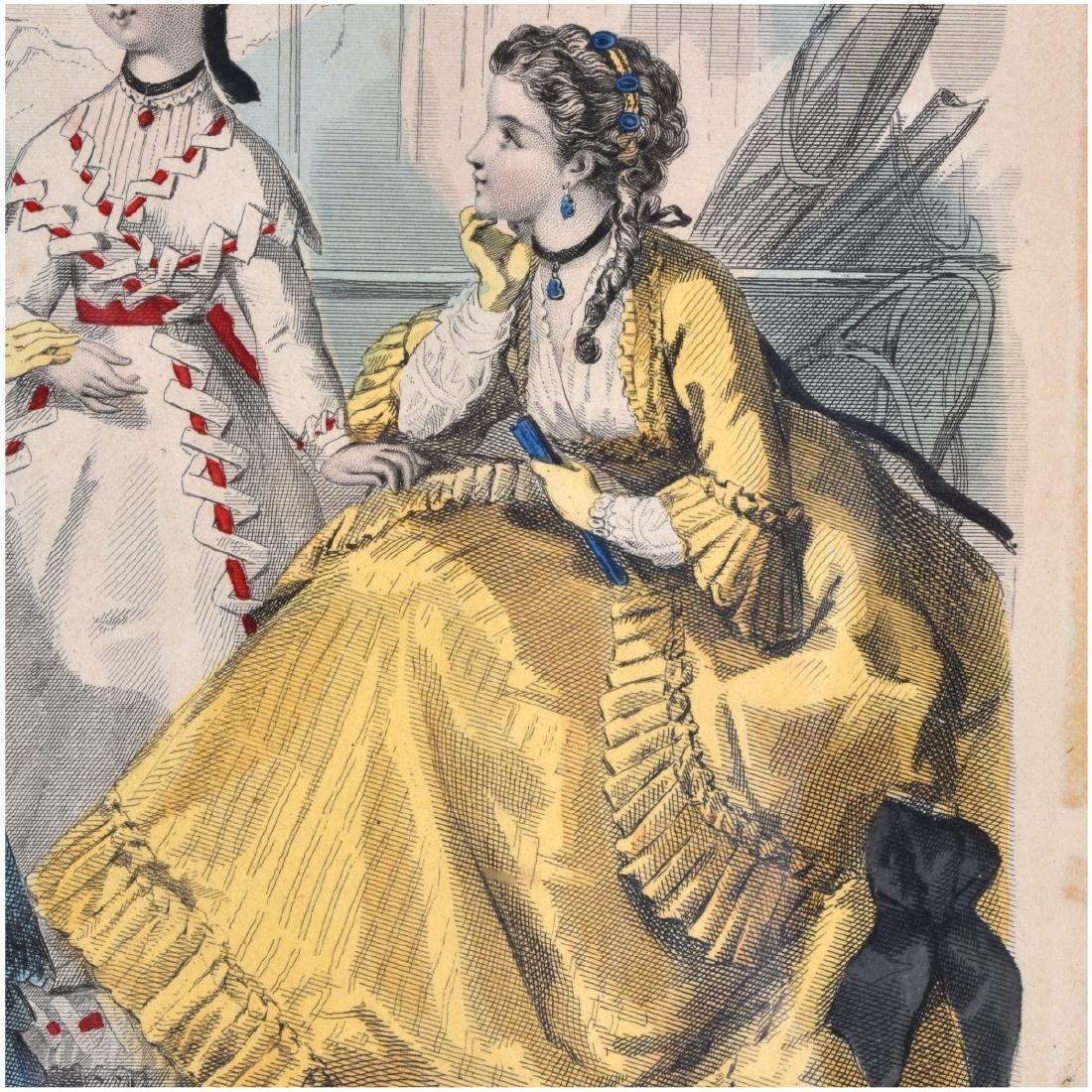 19th Century Le Follet Engravings - 4