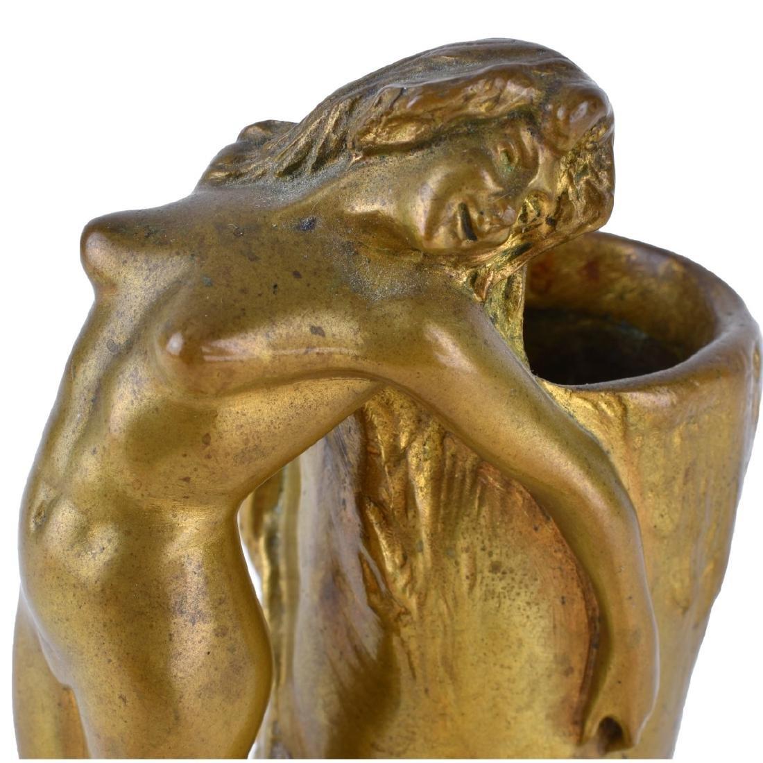 Charles Korschann (1872 - 1943) Art Nouveau Bronze - 3