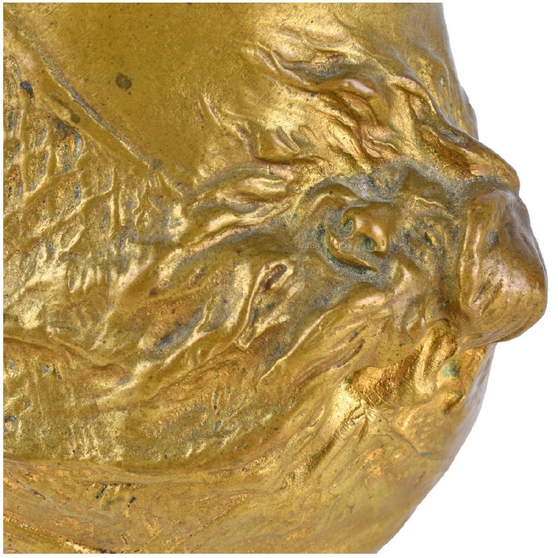 Charles Korschann (1872 - 1943) Art Nouveau Bronze - 4