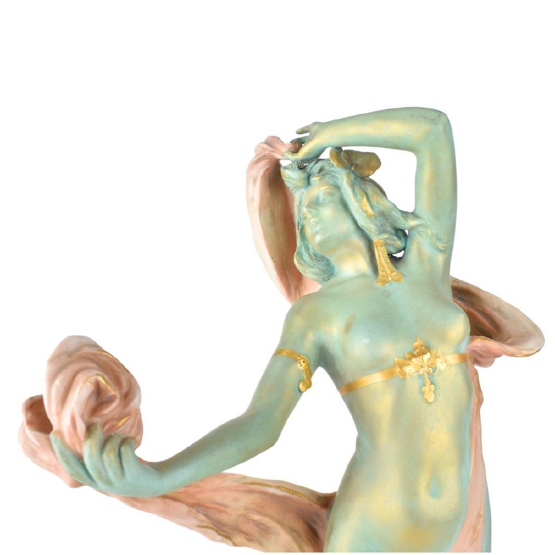 Ernst Wahliss Turn Vienna Porcelain Figurine - 3