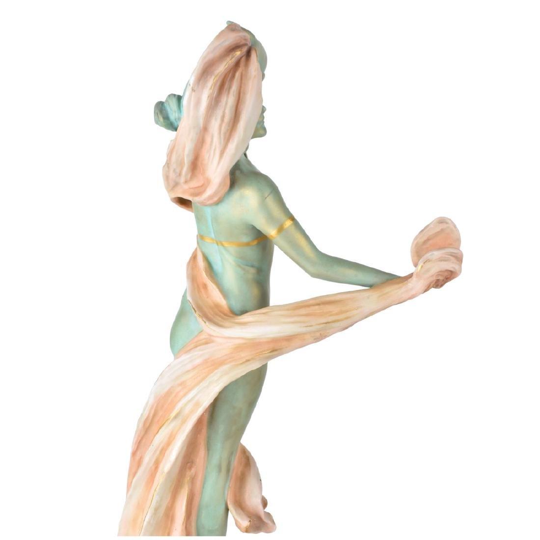 Ernst Wahliss Turn Vienna Porcelain Figurine - 4