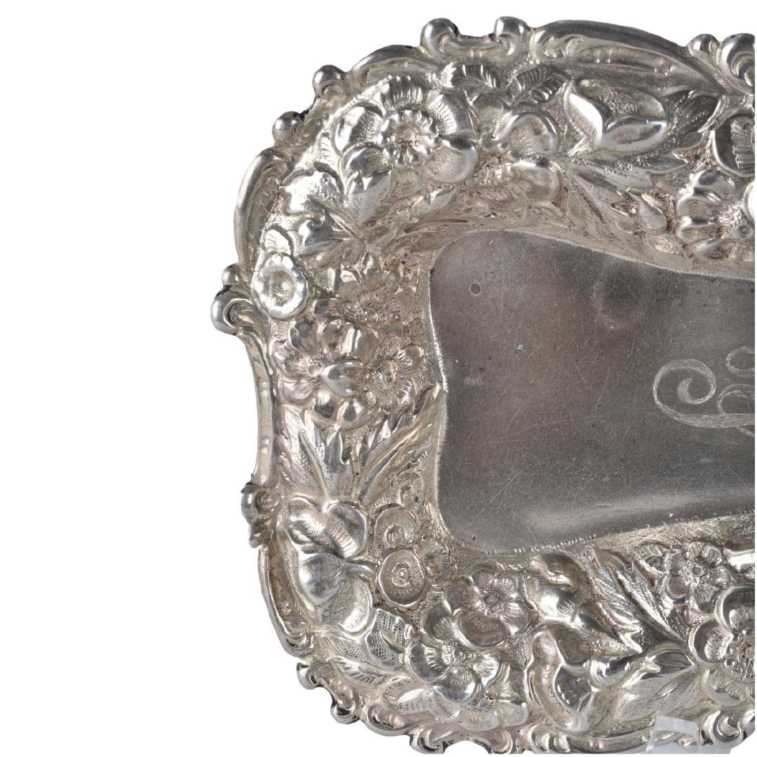 Two (2) Piece Lot: Sterling Silver Dish and Swan - 4