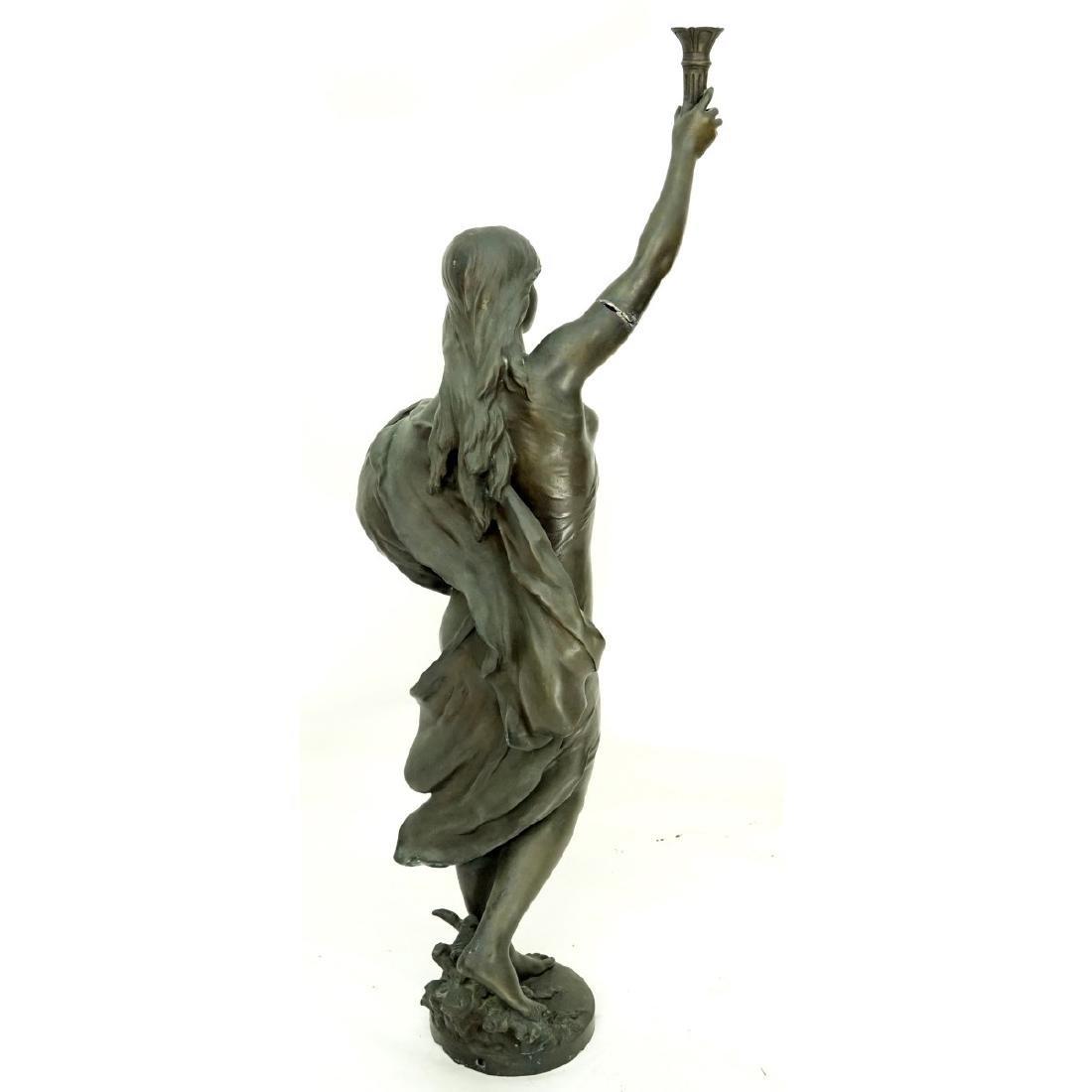 After: Mathurin Moreau (1822 - 1912) Bronze - 2