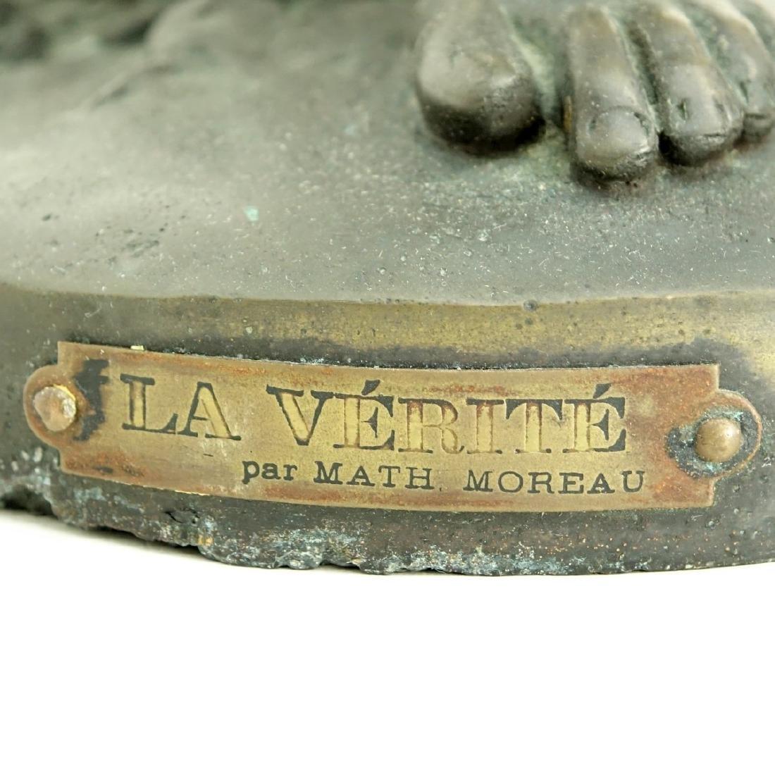 After: Mathurin Moreau (1822 - 1912) Bronze - 7