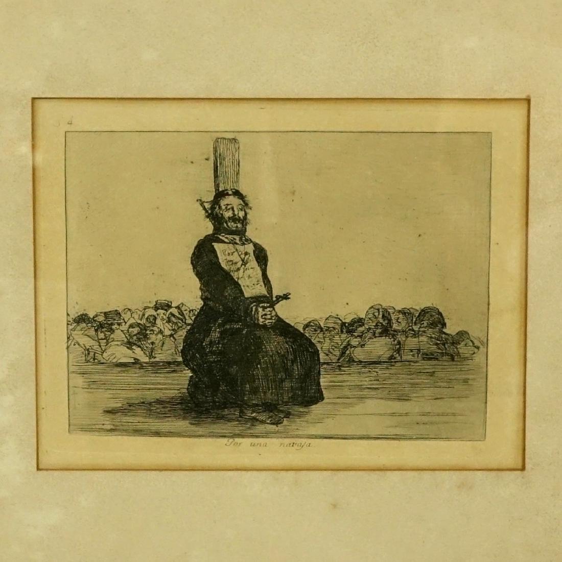 After: Francisco Goya, Spanish (1746 - 1828)