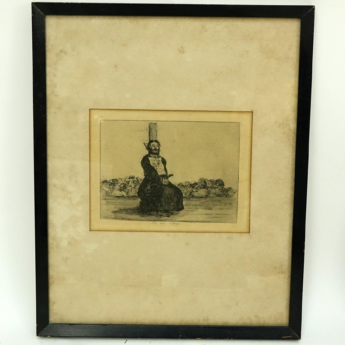 After: Francisco Goya, Spanish (1746 - 1828) - 2