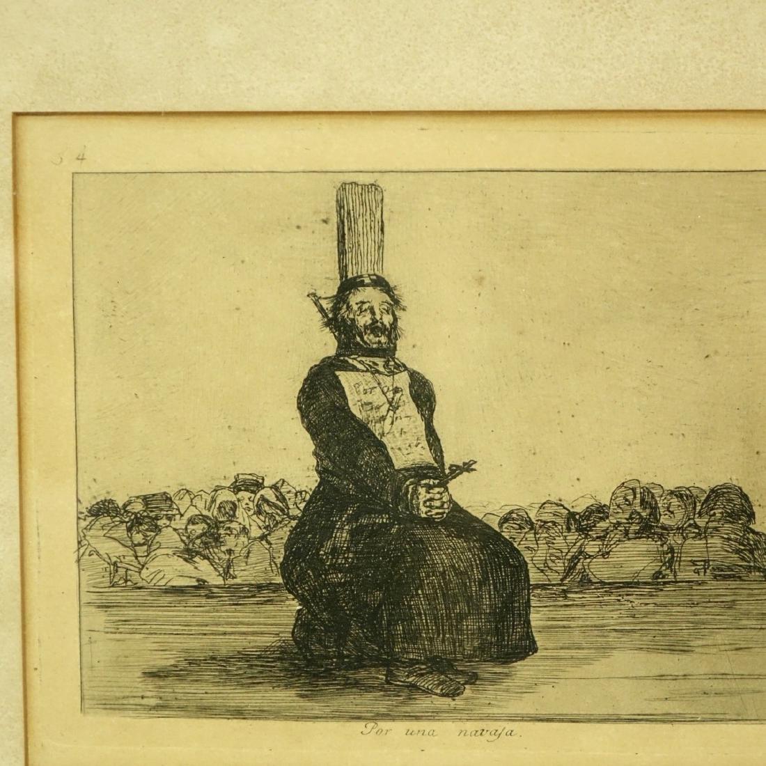 After: Francisco Goya, Spanish (1746 - 1828) - 3