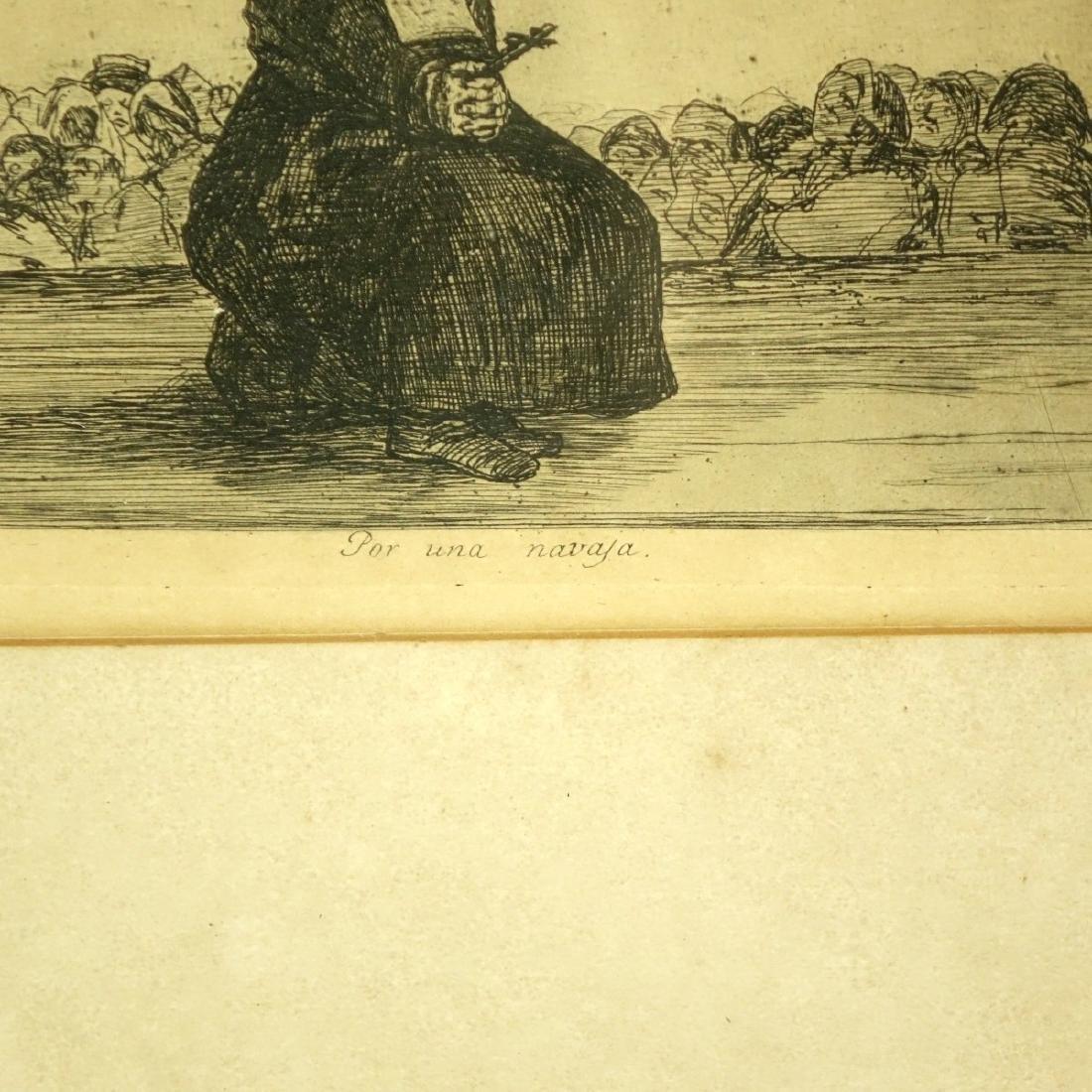 After: Francisco Goya, Spanish (1746 - 1828) - 5