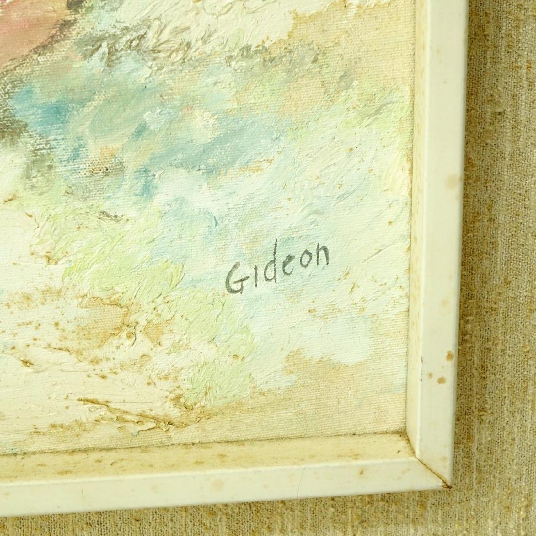 Elmo Gideon, American (1924 - 2010) Oil on Board - 3