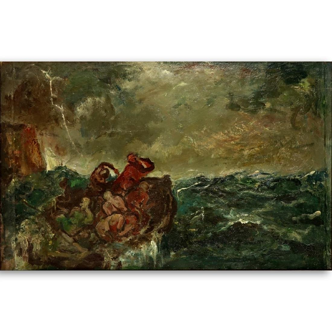 Mario Bucci, Italian (1903 - 1970) Oil on Canvas