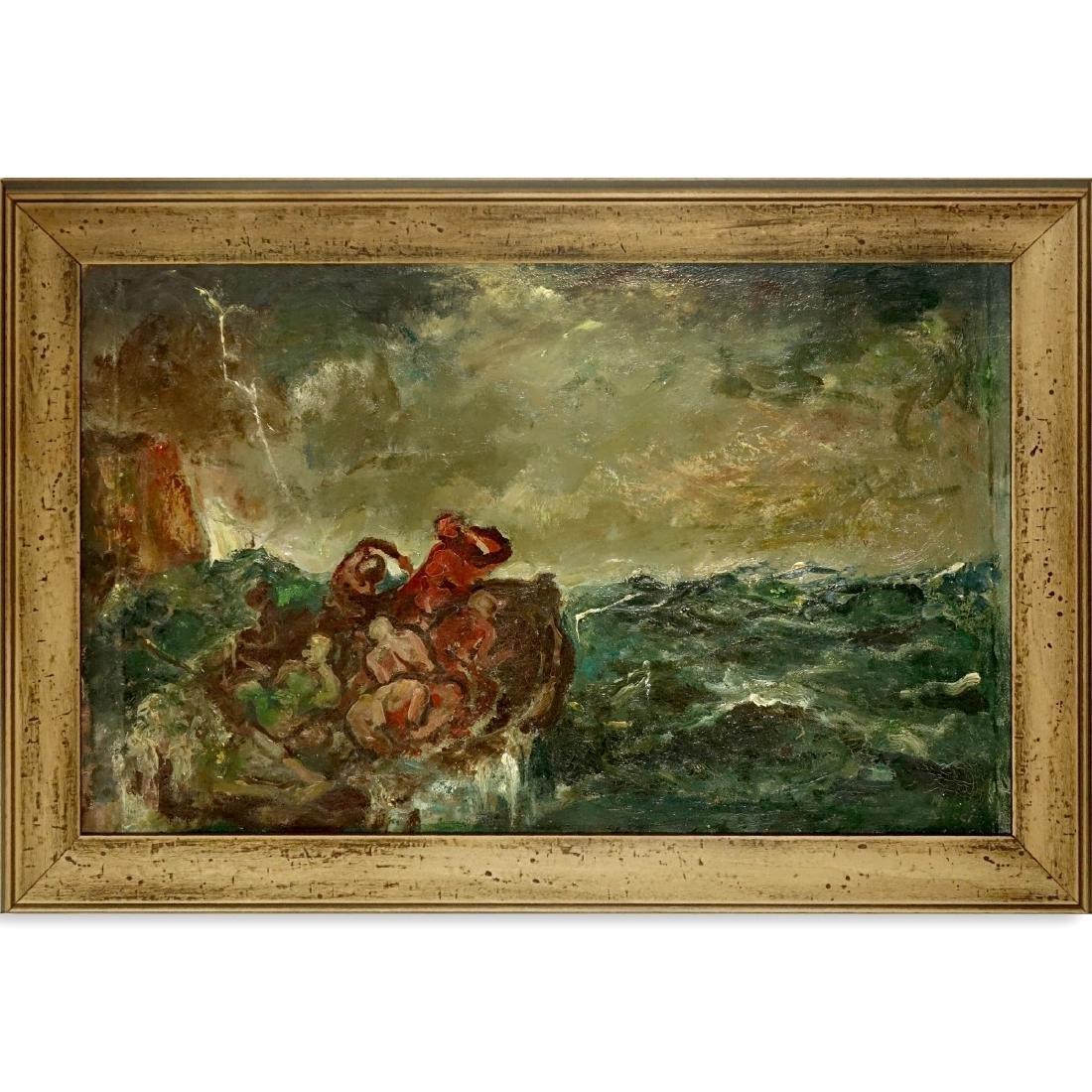 Mario Bucci, Italian (1903 - 1970) Oil on Canvas - 2