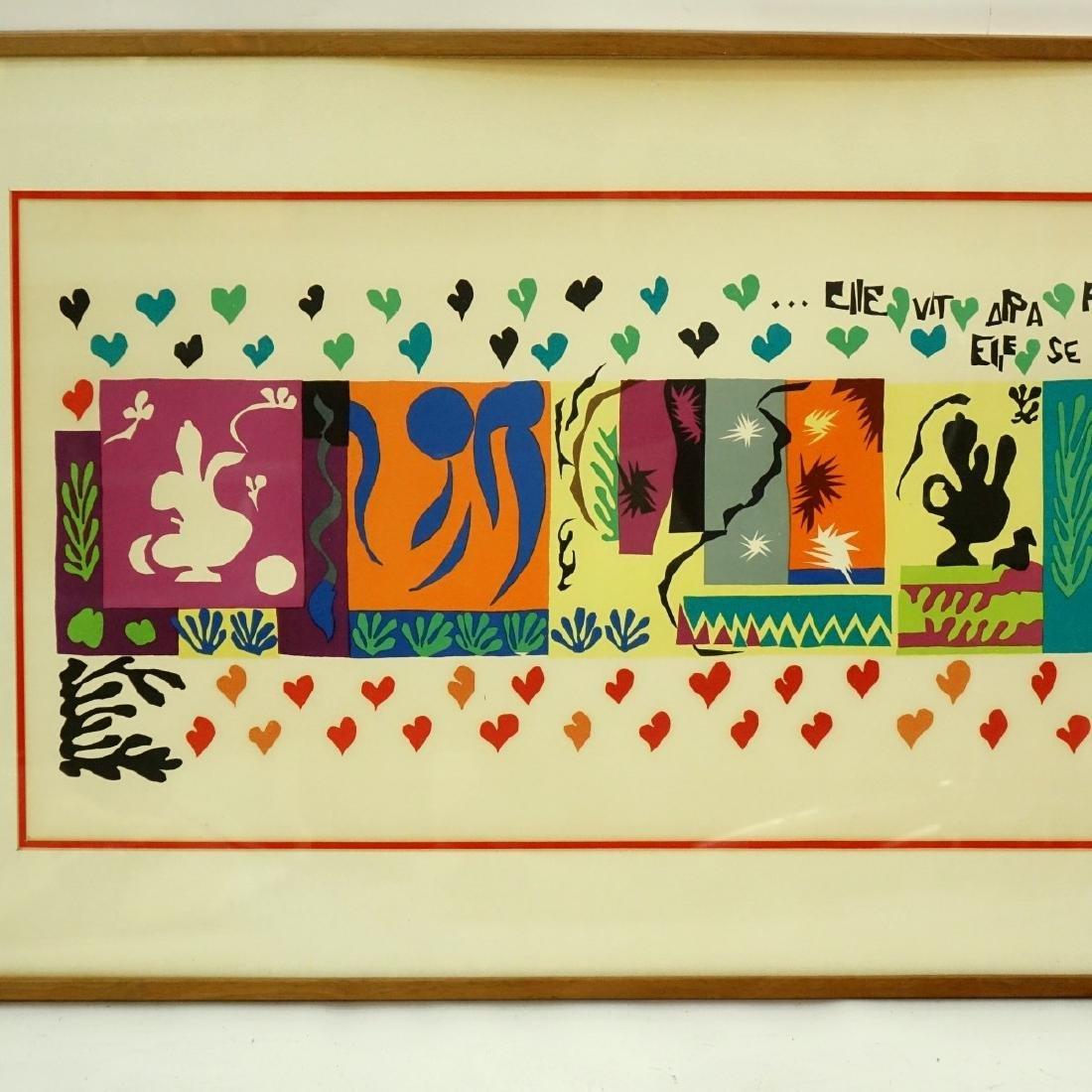 Henri Matisse, French (1869 - 1954) Lithograph - 2