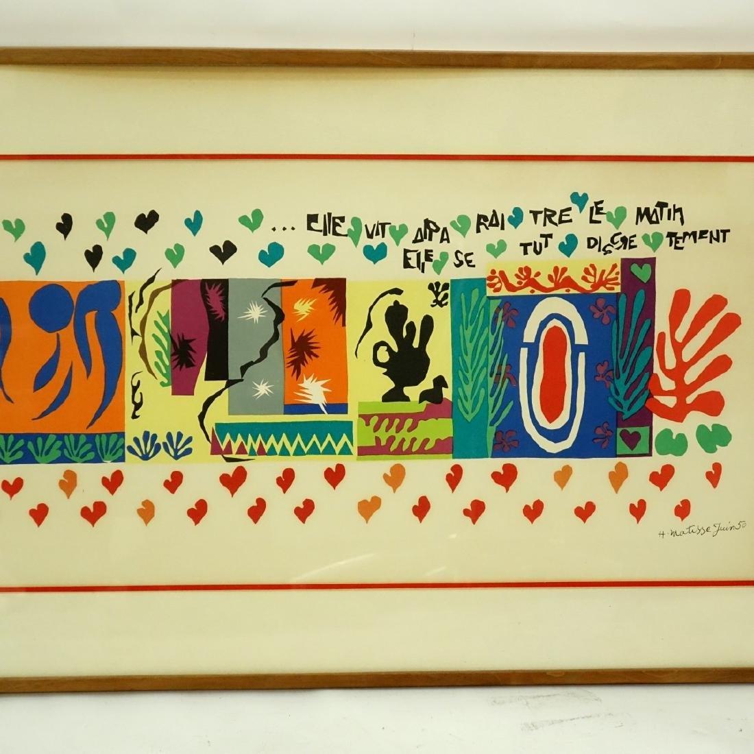 Henri Matisse, French (1869 - 1954) Lithograph - 3