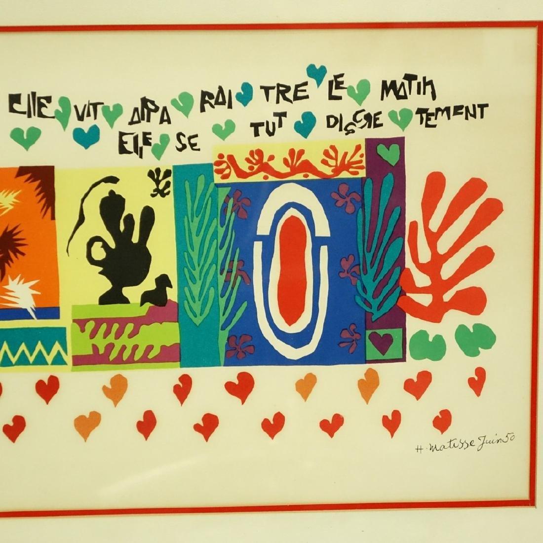 Henri Matisse, French (1869 - 1954) Lithograph - 4