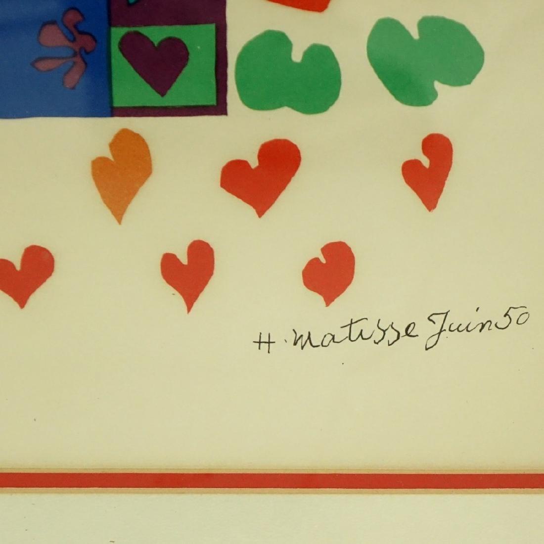 Henri Matisse, French (1869 - 1954) Lithograph - 5
