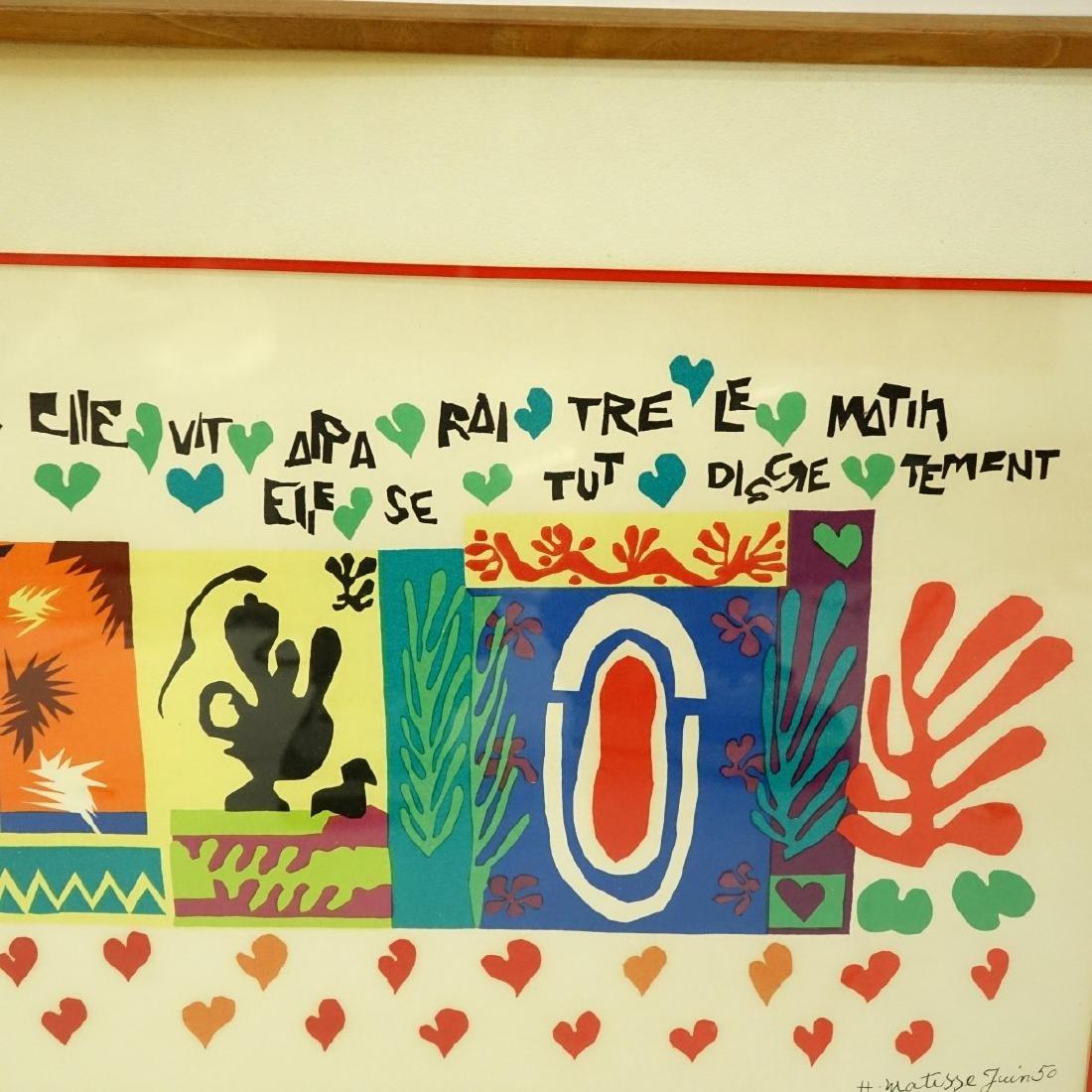 Henri Matisse, French (1869 - 1954) Lithograph - 6