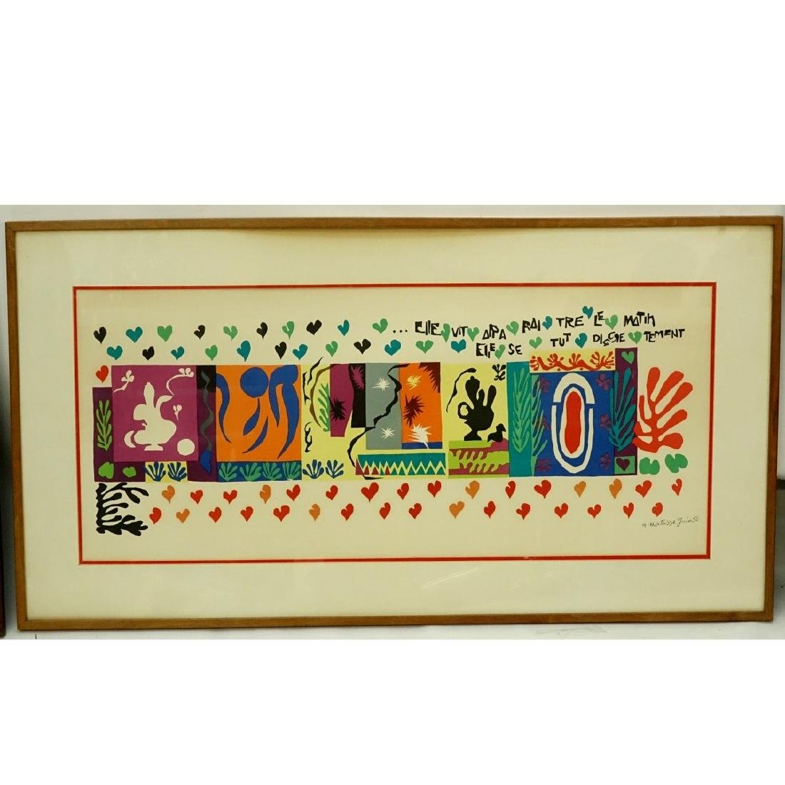 Henri Matisse, French (1869 - 1954) Lithograph - 8