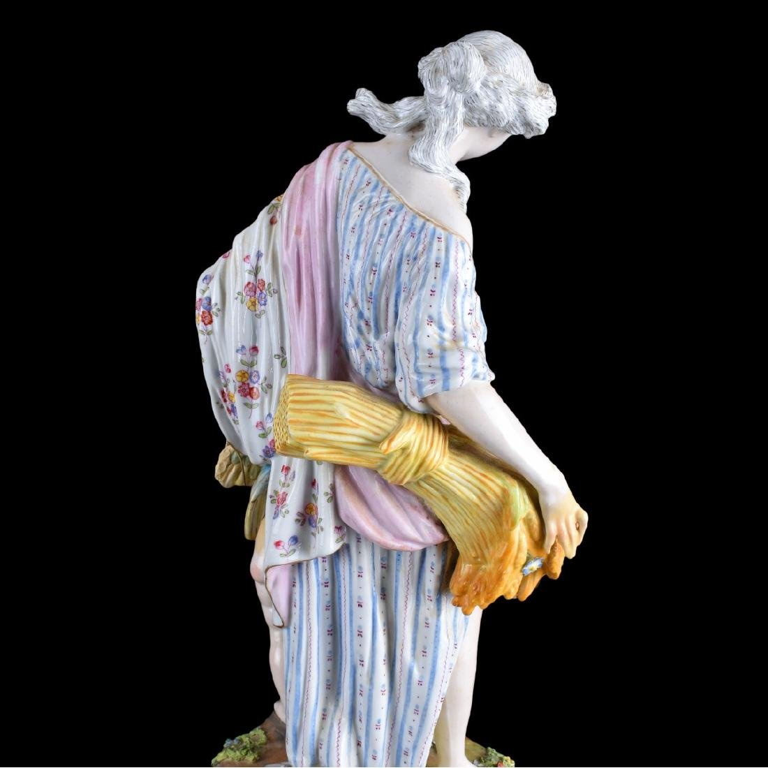 Impressive Pair of Meissen Porcelain Figural Group - 4