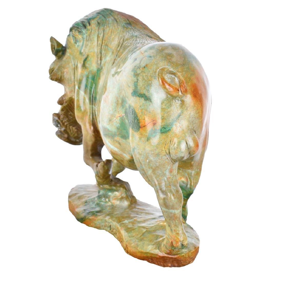 James Tandi (20/21st century) Verdite Sculpture - 2