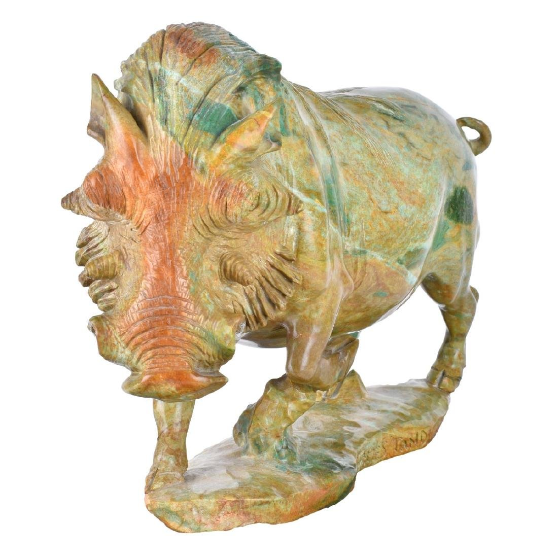 James Tandi (20/21st century) Verdite Sculpture - 3