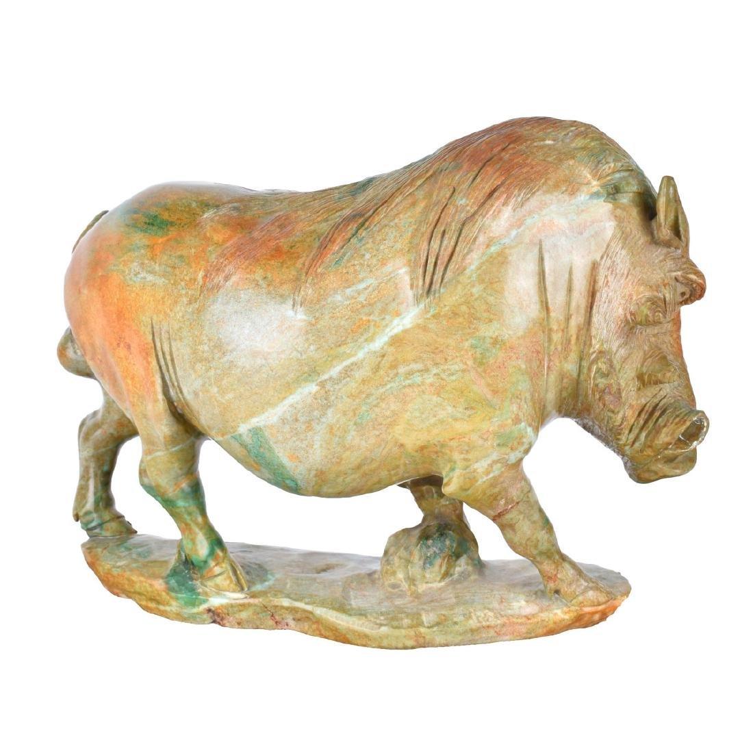 James Tandi (20/21st century) Verdite Sculpture - 4