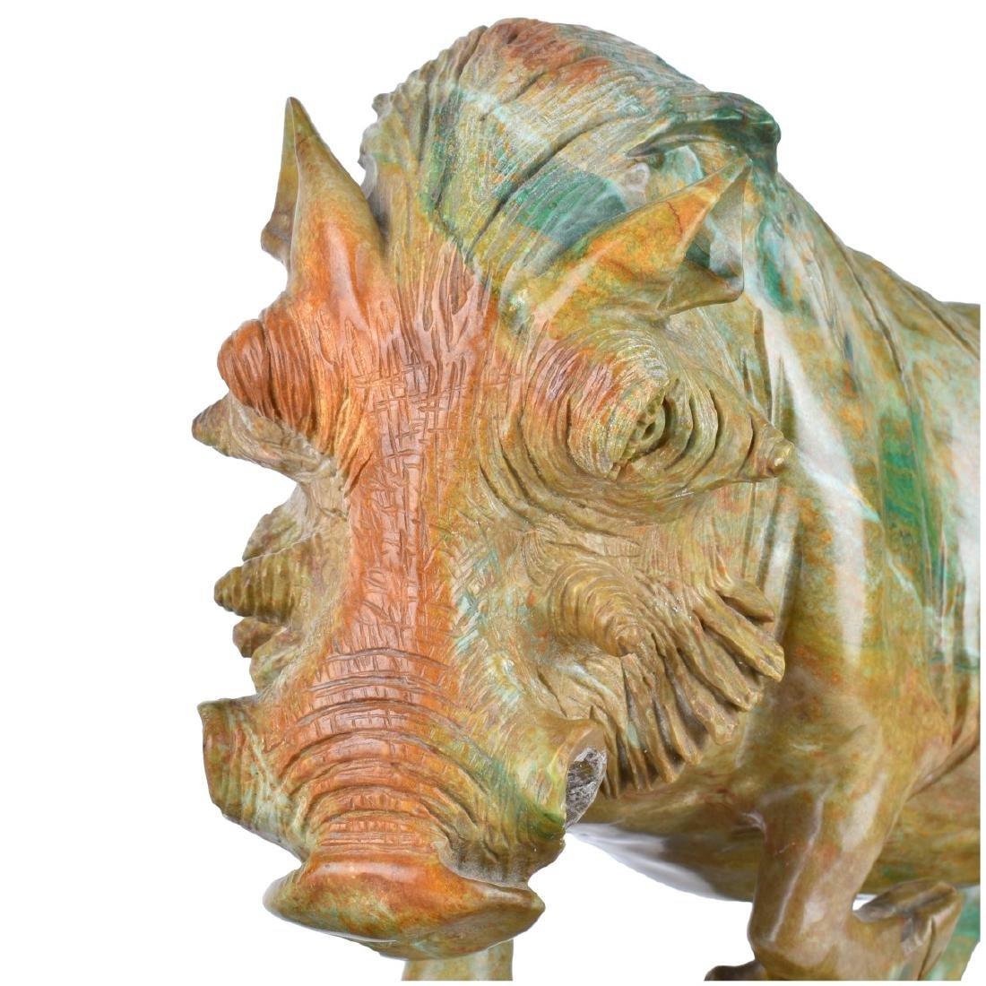 James Tandi (20/21st century) Verdite Sculpture - 5