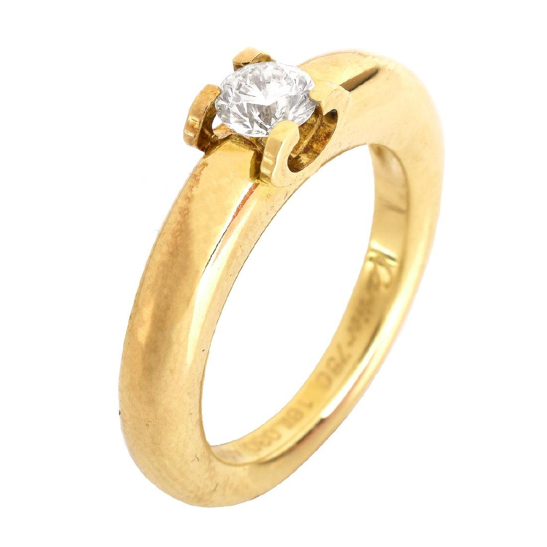 Cartier Louis Solitaire Ring