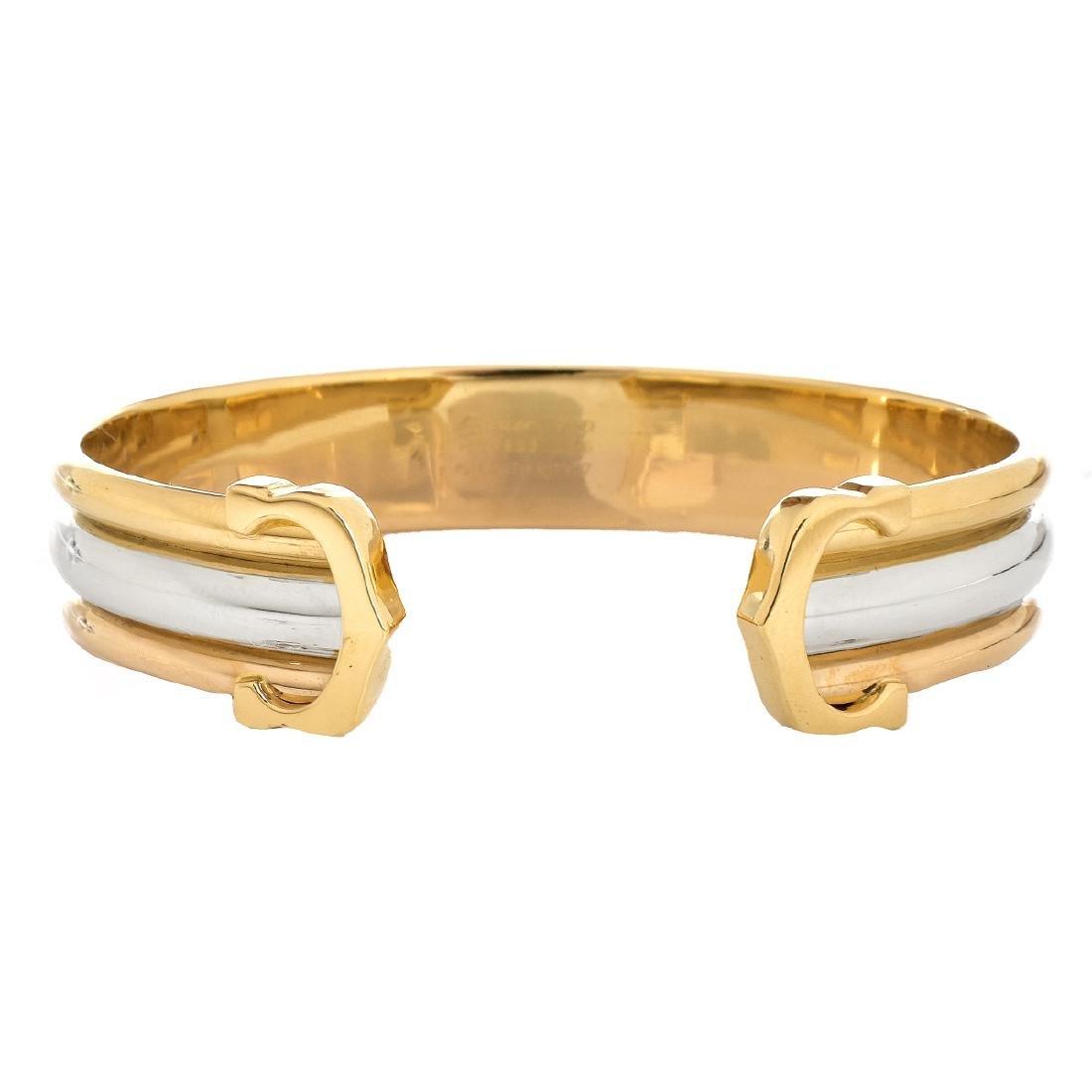 Cartier Trinity Double C Bracelet